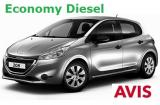 Peugeot 208 Diesel a/c 5 door 5 passenger Manual or Similar Group C