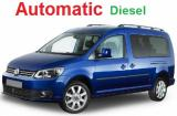 VW Caddy  a/c 7 passenger Automatic economy DIESEL Minivan or similar.