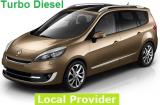 Renault Grand Scenic Diesel Minivan a/c 7 passenger Manual or Similar