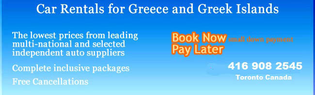 car rental in Greece